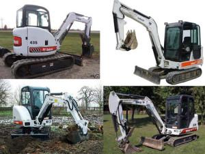 Bobcat 331-G, 331E-G, 334-G Excavadora Manual de Partes Mecanico