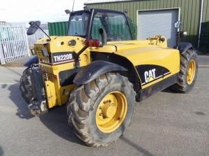 Caterpillar Cat TH220B TH330B Telehandler Manual De Reparacion Mecanica