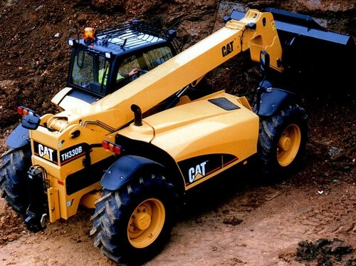 Caterpillar Cat TH330B Telehandler Parts Manual De Despiece Mecanico