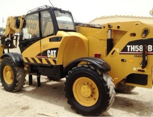 Caterpillar Maquinaria Pesada TH580B Telehandler Manual De Mecanica