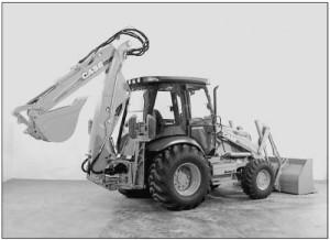 Retroexcavadora Case 580SM Manual De Mecanica Taller y Reparacion