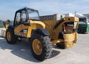Retroexcavadora Caterpillar Cat TH360B TH560B Telehandler Manual De Taller Mecanico