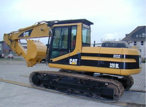Caterpillar Cat 320b 320l Track-type Manual Mecanico De Partes