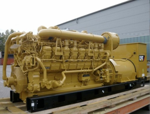 Caterpillar Cat 3516B Generator Set Manual Taller De Partes