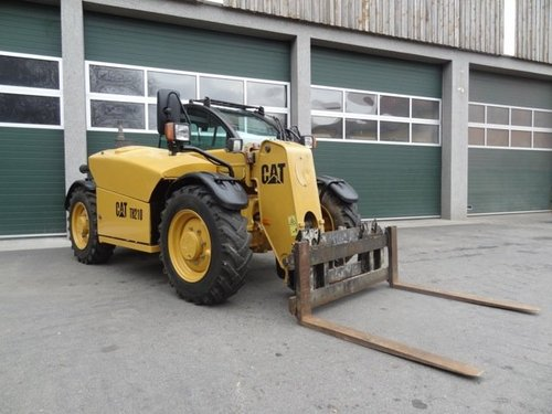 Caterpillar Th210 Th215 Telehandler Manual Mecanico Electrico Reparacion