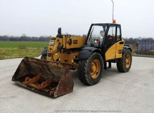 Caterpillar Th350b Th355b Th360bTelehandler Manual Taller Electrico