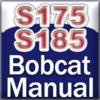 Bobcat S175, S175H, S185, S185H MiniCargador Manual de Servicio
