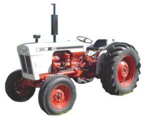 Case David Brown 885 885n Tractor Manual de taller de Reparacion