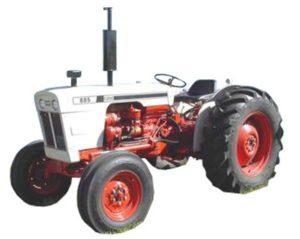 Case David Brown 885 885n Tractor Manual de taller de Reparación