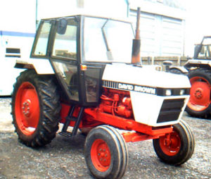 Case David Brown 1390 Tractor Manual de Servicio del taller