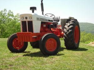 Case David Brown 995 Tractor Manual de Servicio del taller