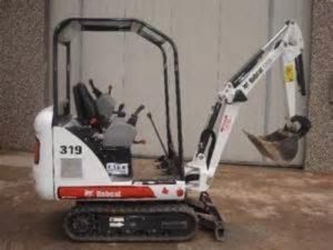 Bobcat 319 Excavatora Manual de Taller y Servicio