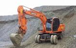 Daewoo Doosan DX140W-DX160W Excavadora De Ruedas Taller Manual De Reparacion