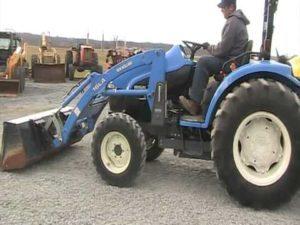 New Holland Tc45d 4 Tractor Manual de servicio