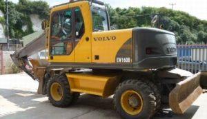Volvo Ew160b Excavadora de Ruedas Servicio Manual de Reparacion