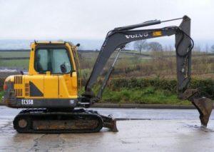 Volvo EC55B Excavatora Compacta Manual de Reparacion