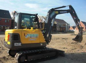 Volvo Ec55c Excavadora Taller Manual de Reparacion