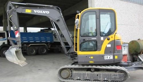 Volvo Ecr58 Excavadora Manual de Reparacion y Taller