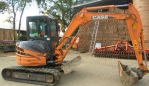 CASE CX40B CX50B Mini Excavadora Manual de Servicio