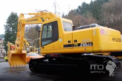 Robex 210LC-7 R210LC-7 Hyundai Crawler Excavator Manual de servicio