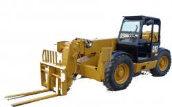 Caterpillar TH62, TH63, TH82, TH83, TH103 Telehandler Manual de taller de fabrica