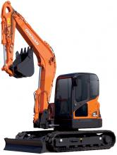 Doosan DX80R Crawler Excavatora Manual de Taller