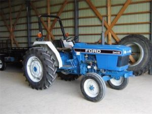 Ford New Holand 3415 Tractor Manual para operadores