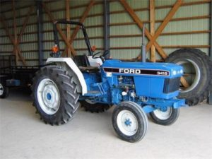 Ford New Holand 3415 Tractor Manual para operadores