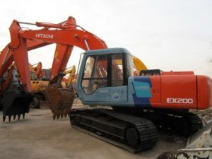 Hitachi EX200-3 EX200LC-3 EX200H-3 Excavadora Catalogo de piezas