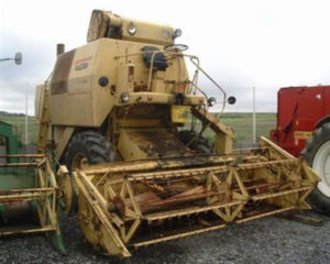 New Holland Clayson 133 135 Combine Manual de servicio